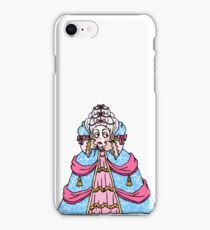 headless marie antoinette iPhone Case/Skin