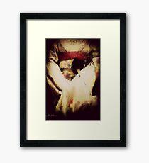KIMONO Framed Print
