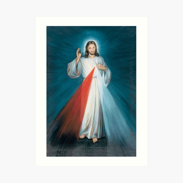 Divine Mercy Art Print