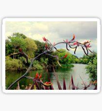 Landscape | The River | Dublin, Ireland Sticker