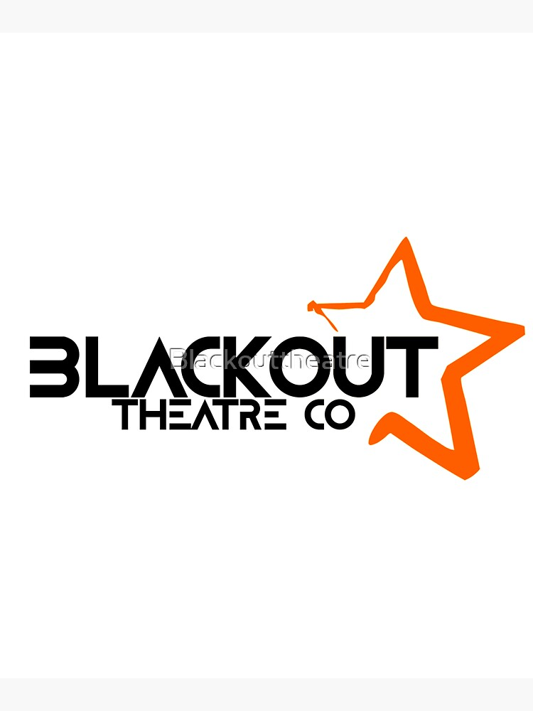 Blackout Theatre Company Logo (Black Print) by Blackouttheatre