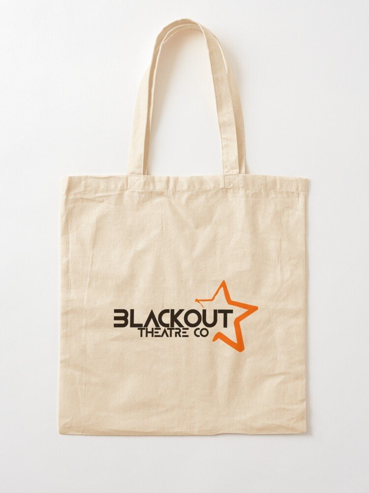 Alternate view of Blackout Theatre Company Logo (Black Print) Tote Bag