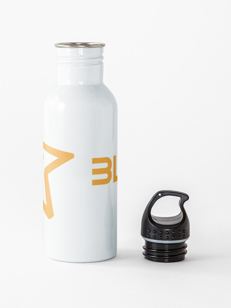 Alternate view of Blackout Theatre Company Logo (Gold Print) Water Bottle