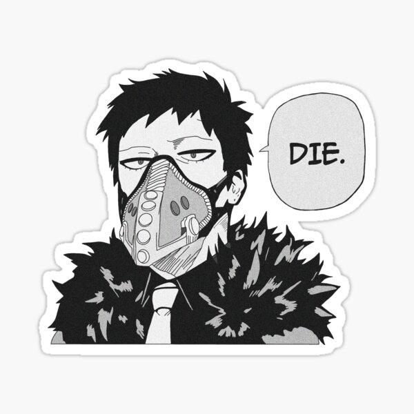 Overhaul mha Sticker