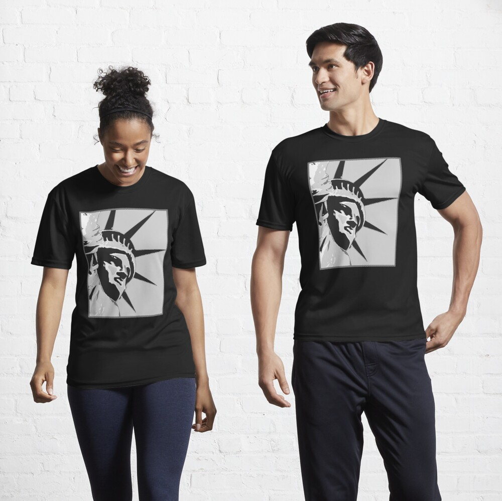 Face of Liberty Active T-Shirt