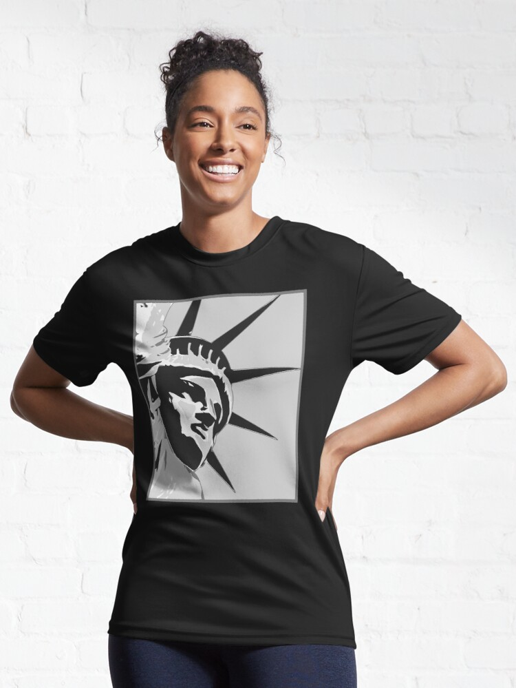 Alternate view of Face of Liberty Active T-Shirt
