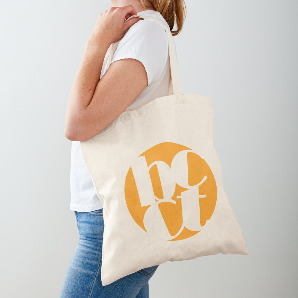 Throwback Blacktown Theatre Company Logo (Gold Print) Tote Bag