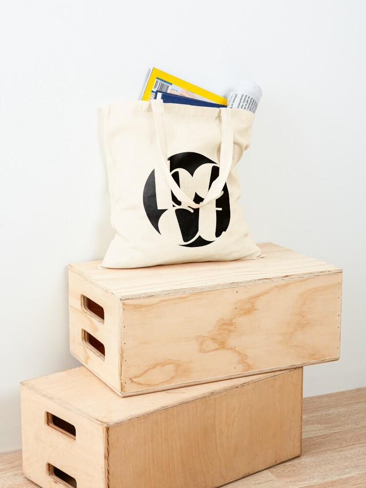Alternate view of Throwback Blacktown Theatre Company Logo (Black Print) Tote Bag