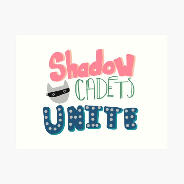 Shadow Cadets Unite! Art Print