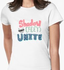Shadow Cadets Unite! Women's Fitted T-Shirt