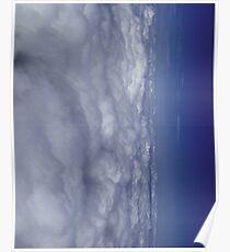 Fade into Blue Sky Poster
