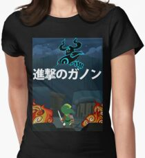 Attack on Ganon Women's Fitted T-Shirt