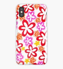 Doodle Flowers (iPhone / iPod Case) iPhone Case/Skin