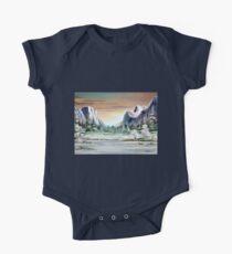 Yosemite Valley  One Piece - Short Sleeve