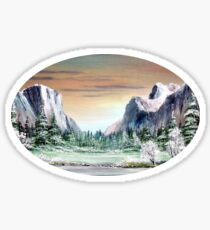 Yosemite Valley  Sticker