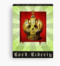 Lord Liberty Canvas Print
