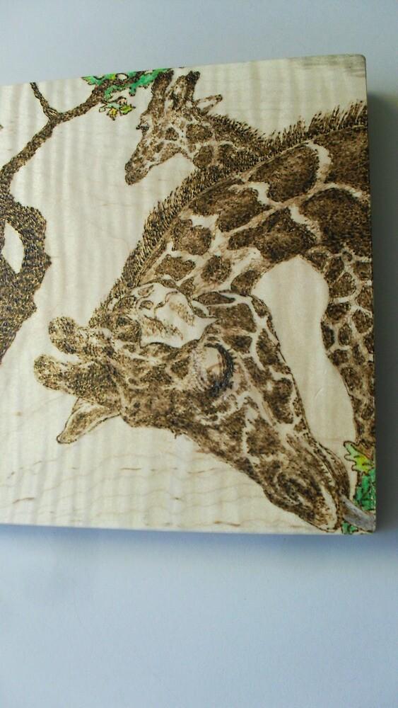 Giraffs by lynnieB