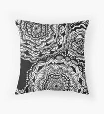 really bored Throw Pillow