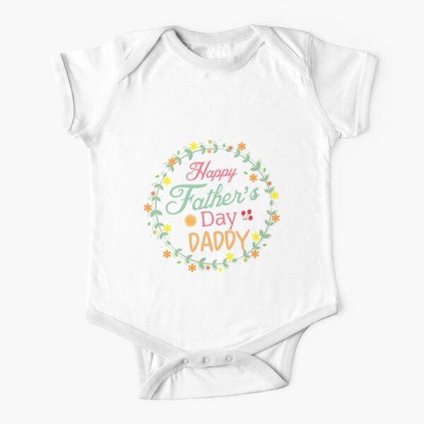 Feliz Día del Padre Oso Bebé Crecen Chaleco Personalizado Personalizado Regalo Divertido Lindo
