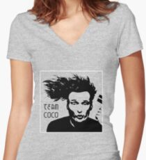 Team Coco Women's Fitted V-Neck T-Shirt
