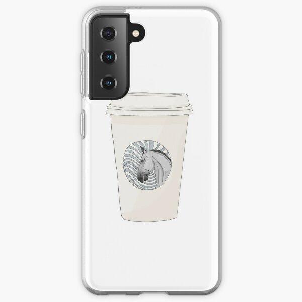 Equestrian Coffee Cup Samsung Galaxy Soft Case