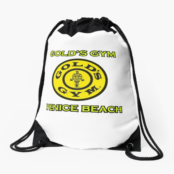 Gold's Gym Venice Beach Drawstring Bag