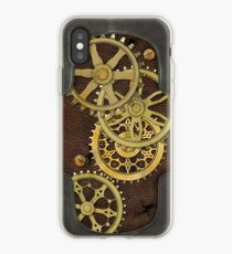 Leather and Brass Steampunk iPhone Case