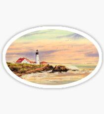 Portland Head Lighthouse Maine Sticker