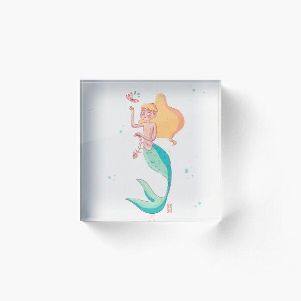 Sirenita Bloque acrílico