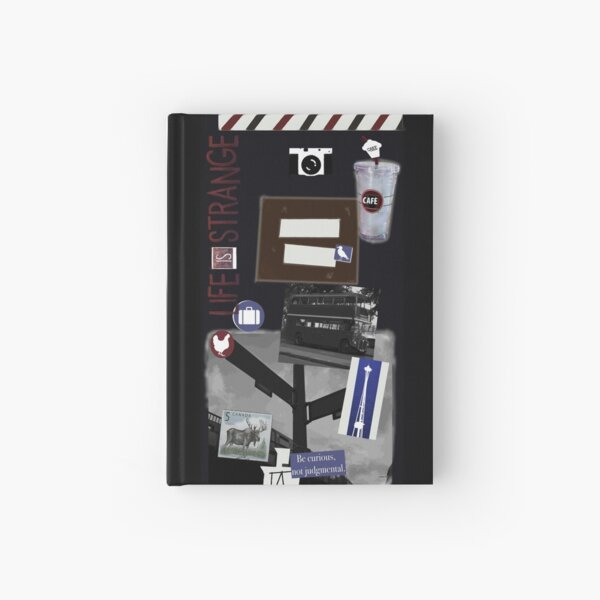 Max's Journal (Life is Strange) Hardcover Journal