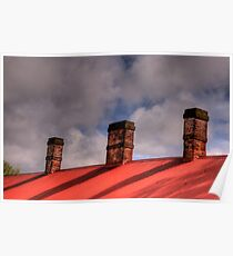 Embers of History - Goulburn Brewery c1833, Goulburn NSW - The HDR Experience Poster
