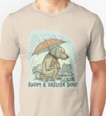 Adopt a Shelter Dog Unisex T-Shirt