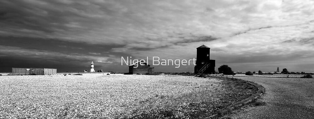 Black Beacon Panoramic by Nigel Bangert