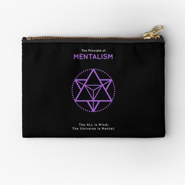 The Principle of Mentalism - Shee Symbol Zipper Pouch