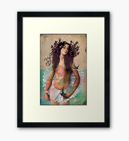 Portrait 06 Framed Print