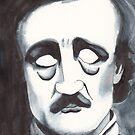 Edgar Allan Poe by Dinah Stubbs