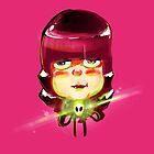 Alien Girl 2 by josefomalatrova