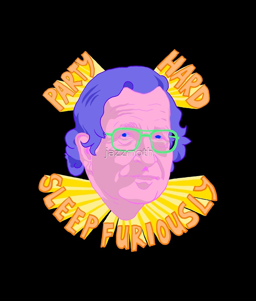 PARTY CHOMSKY by jazzmoth
