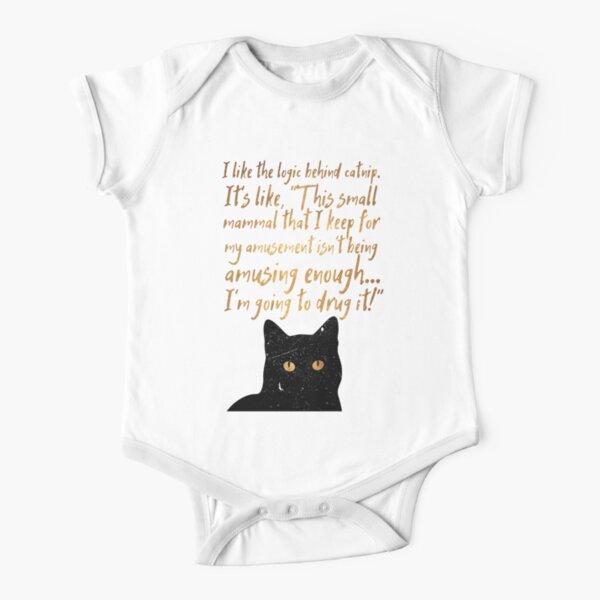 Catnip Short Sleeve Baby One-Piece