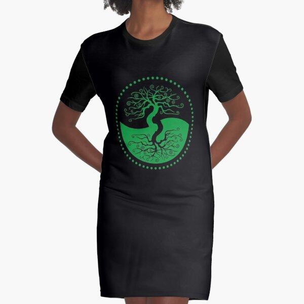 The Principle of Correspondence - Shee Symbol Graphic T-Shirt Dress