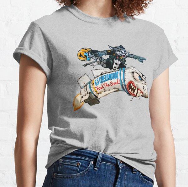 6.5 Creedmoor | Missile Rider Classic T-Shirt