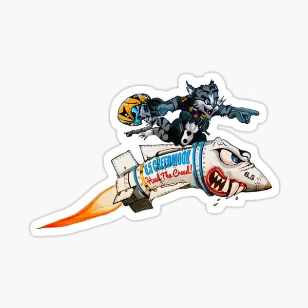 6.5 Creedmoor | Missile Rider Sticker