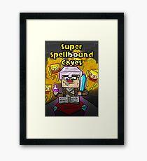Super Spellbound Caves - Enchanting Poster Framed Print