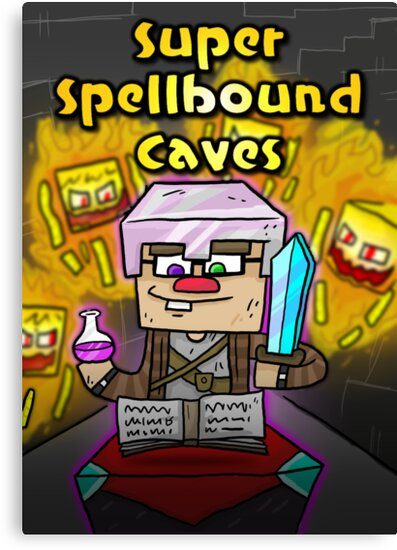 Super Spellbound Caves - Enchanting Poster by ChimneySwift11