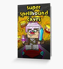 Super Spellbound Caves - Enchanting Poster Greeting Card