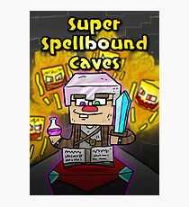 Super Spellbound Caves - Enchanting Poster Photographic Print