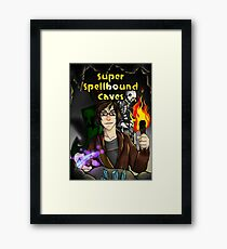Super Spellbound Caves - Discovery Poster Framed Print