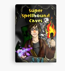 Super Spellbound Caves - Discovery Poster Metal Print