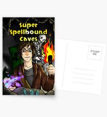 Super Spellbound Caves - Discovery Poster Postcards