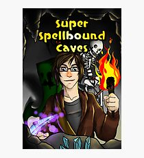 Super Spellbound Caves - Discovery Poster Photographic Print